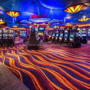 Fire Resistance Nylon Luxury Casino Carpet for Sale