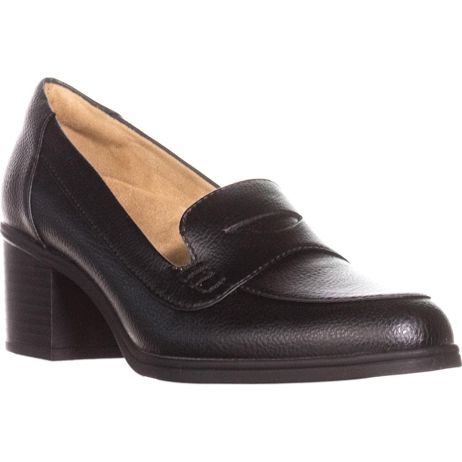 9524b68dff1 Get Quotations · Naturalizer Hilly Loafer Pumps - Black Tumble