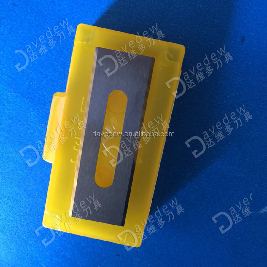 Factory Direct Sale High Quality Tungsten Carbide Long Blade for Cutting Polyester Staple Fibre