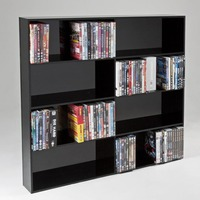 Customized High Quality Clear Acrylic CD DVD Holder Display Rack