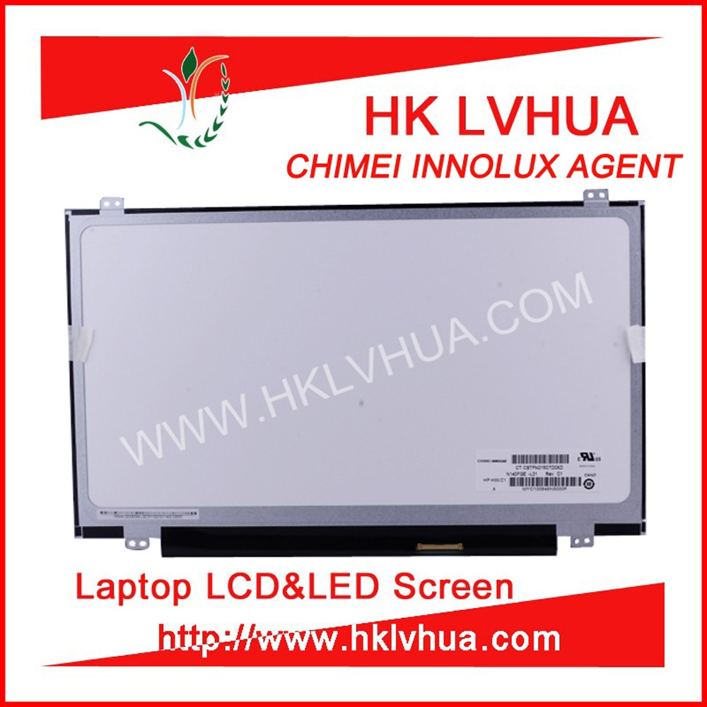 Notebook 14.0 inch display LP140WD2-TLD3 N140FGE-L32 N140FGE-LA2 for used laptop in japan