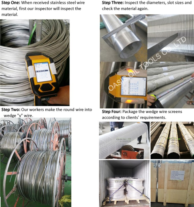 wedge wire screen product