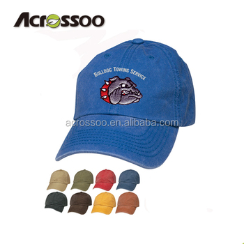 644a8e2a4ee06 China factory made Cotton Canvas Embroidered Promo sport Baseball ...