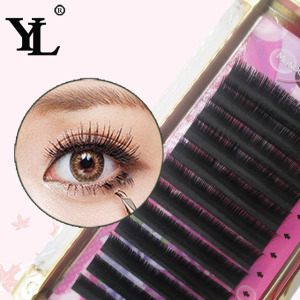 OEM eyelash extension 0.10-0.25mm thickness individual lashes natural long