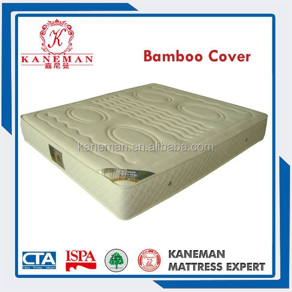 Sleepwell bonnell spring mattress with Bamboo fabric
