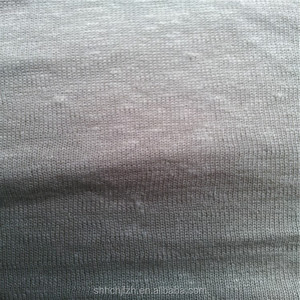 Eco-Friendly 55% Hemp 45% Organic Cotton Knitted Jersey Fabric For Sweatshirt