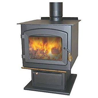 Heater / Stove Wood Burning - 85,000 Btu - 2,100 Sq Ft - Ul Listed - Epa Cert