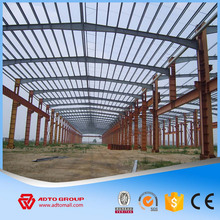New Design Fast Building Steel Hall Structure Auditorium Warehouse Storage Room Workshop Barns with Drawings China Factory 2016