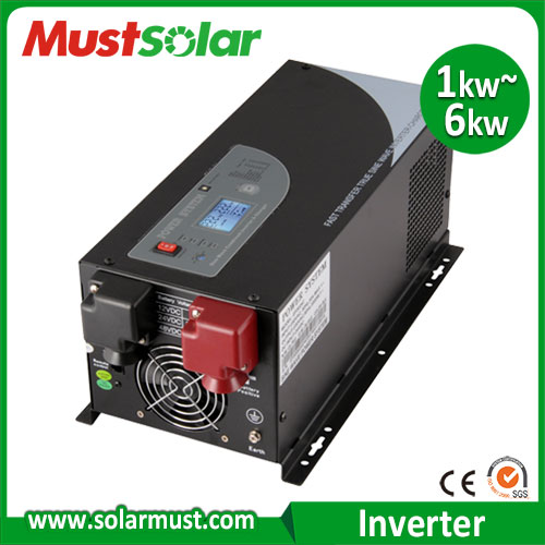 Compare Pure Sine Wave Solar System Inverter 4KW DC 24v to 220v