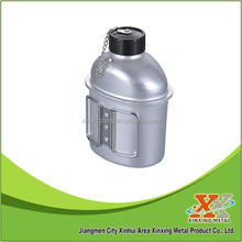 1L Aluminum canteen with cup
