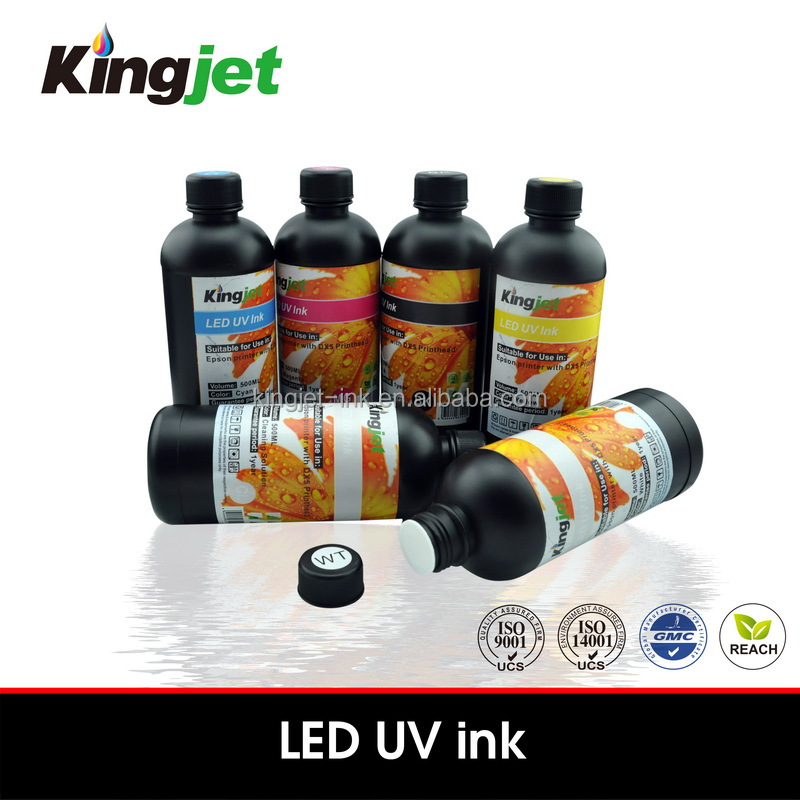 For Epson dx5/7 head softer LED UV ink for soft medium materials printing
