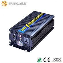 voltage converter 12/24v dc to 220/230v ac 5kw off grid high efficiency pure sine wave inverter