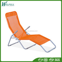 Personalized Beach Foldable Lounge Chairs with Pillow