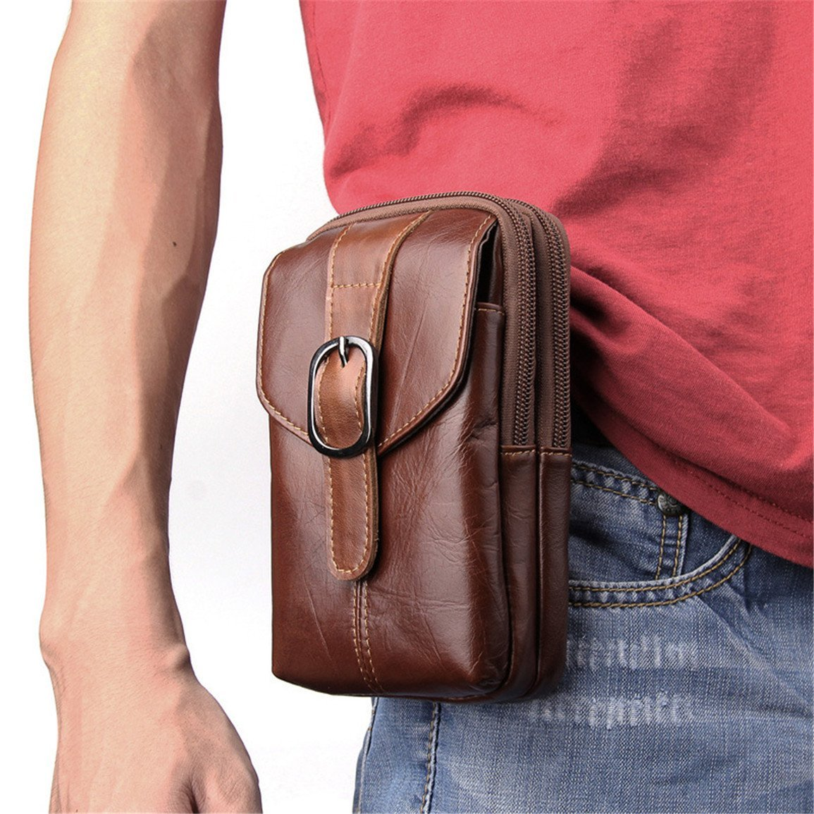 4a0ab97a97bc Get Quotations · Men s Waist Pack