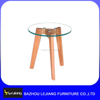modern transparent glass coffee table fit modern sofas