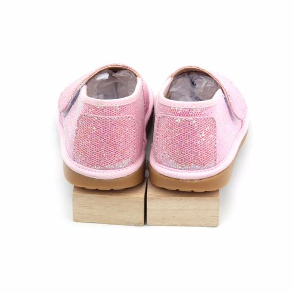 Glänzende Babys Echtes Glitter Leder Flache Sneaker Quietschende Schuhe Buy Quietschende Turnschuhe,Billig Kinder Schuhe,Türkische Schuhe Product on