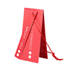 Garment hangtag for bag jeans paper tag blank hang tags