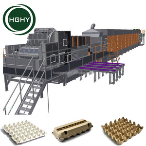 Manual carton egg tray machine Paper pulp molding machine factory