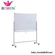 Double Side Magnetische <span class=keywords><strong>Whiteboard</strong></span> Met Standaard 120x90 cm <span class=keywords><strong>Aangepaste</strong></span> Grootte