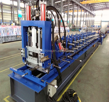 Alibaba China Gold Suppiler Automatic C Z U M Purlin roll forming machine