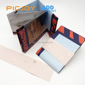 32P A6 Pamphlet digital printing with belly band printing in shanghai