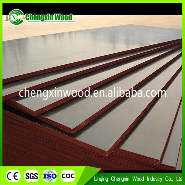 Concrete Block Formwork Board / Film Faced Plywood Specifications