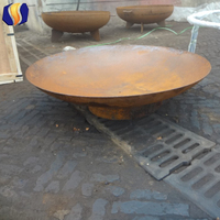 Trade Assurance new design hot sale outdoor steel fire pit D100cm wholesale