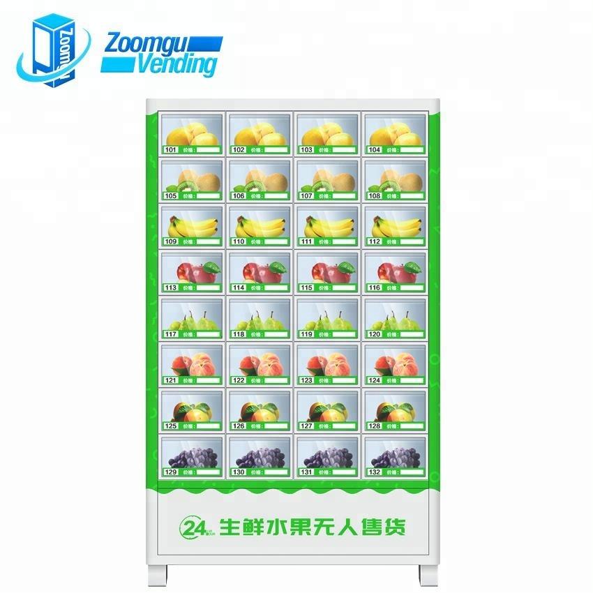 OEM fresh fruit salad vegetable vending machine