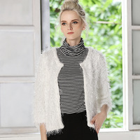 Seven Point Sleeve short style cardigan Sweater for Women