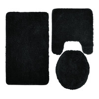 waterproof thin foam floor bath mat for bathroom