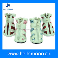 Classic Style Cute Fabric Dog Boots