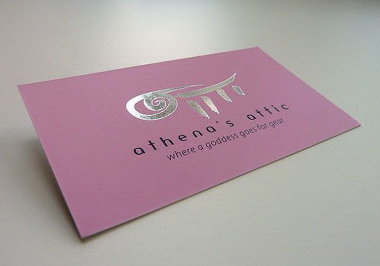 Hot new hot-sale letterpress paper business card
