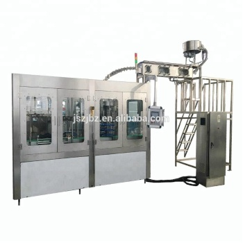Full Automatic PET Bottle Tropical Fruit Juice Hot Filling Production Line 3-in-1 Bottle Filling Machine In Zhangjiagang
