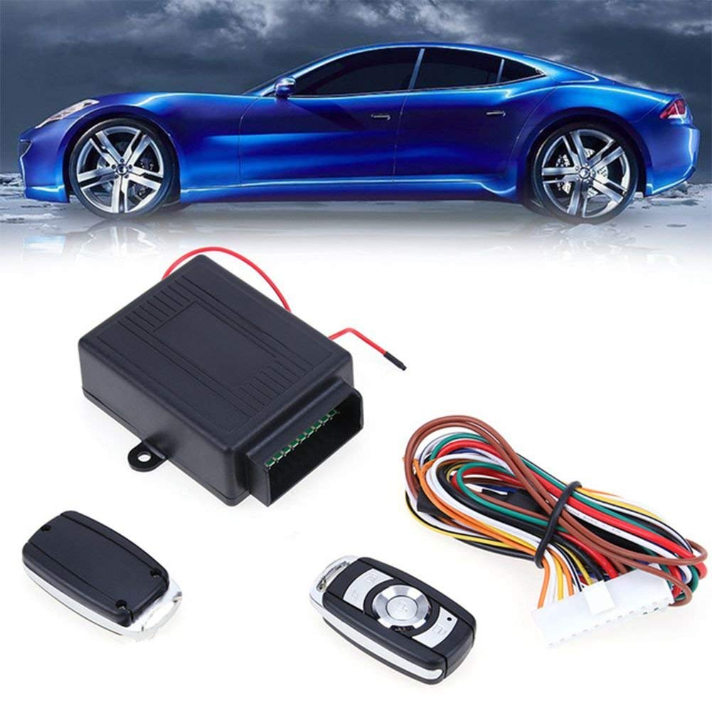 Get Quotations · Toogoo New 1set Car Alarm Systems Auto Remote Central Kit  Door Lock Vehicle Keyless Entry System