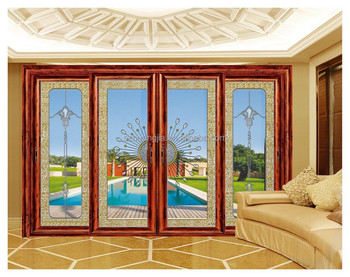 Modern Veranda Exterior Aluminium Frame Roof Sliding Glass