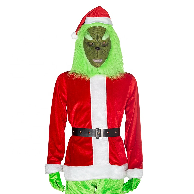 Christmas Suit.How The Grinch Stole Christmas Suit Outfits Adult Santa Grinch Costume Buy Santa Grinch Costume Grinch Costume Santa Costume Product On Alibaba Com