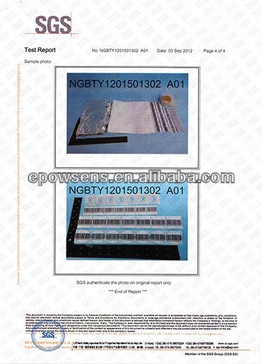RF EAS безопасная этикетка, 8,2 MHz Ювелирная мягкая клейкая этикетка