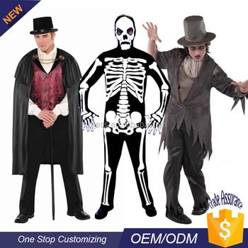 wholesale halloween vampire gravedigger azrael costume bulk for men