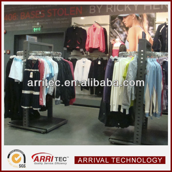garments display stand design