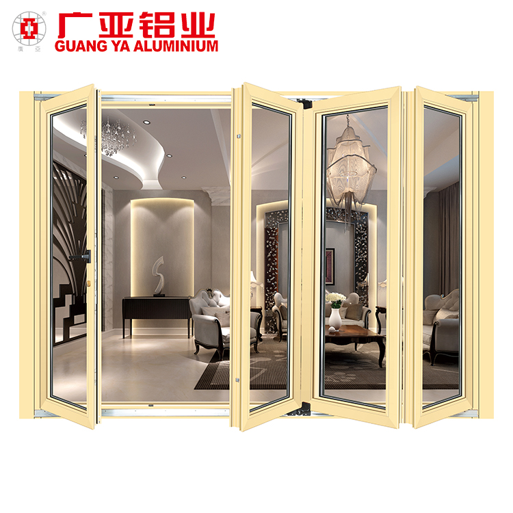 Accordion Folding Glass Garden Doorheavy Folding Glass Door With