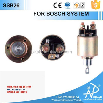 Auto Starter Solenoid Switch For Bosch System 2-339-304-007/2 339 ...