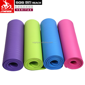 Hot selling mini nbr yoga mat eco friendly