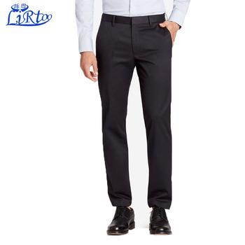 Formal Wear Pant Coat Design Men Black Suit Office Uniform Pants ...