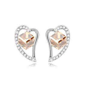 8069 Bohemia Gold Jewelry Design Patterns Green Teardrop Earrings