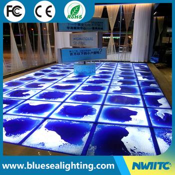 For Sale Disco Dj Portable Liquid Led Lighted Dance Floor Tiles