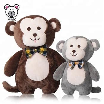 Oem Personalizado Bonito Pai E Bebe Macaco De Brinquedo De Pelucia