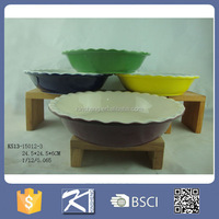 Eco-friendly Stoneware Bakeware Baking dishes& pans Kitchenware