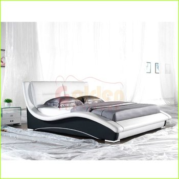New Bed modern italian leather bedroom set new bed design - buy new bed