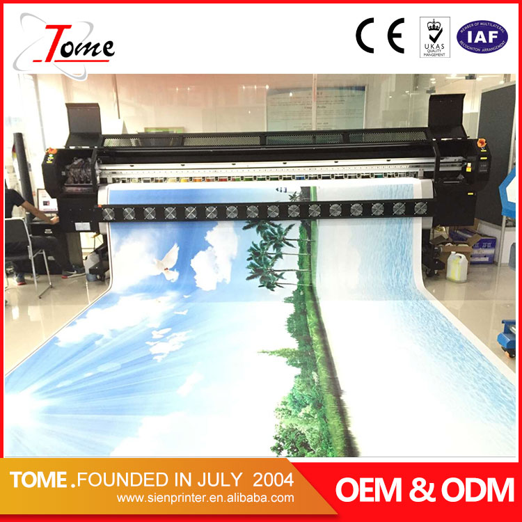 cost konica high speed digital banner photocopy vinyl printing machine