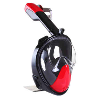 74f0768c6 Cara completa 180 grados snorkel máscara nariz aliento máscara de buceo  natación ...